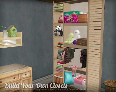 Build Your Own Closet