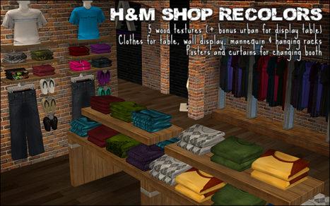 H&M Shop Recolors