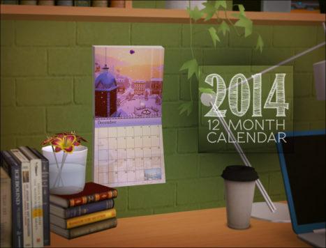 Scenic Calendar