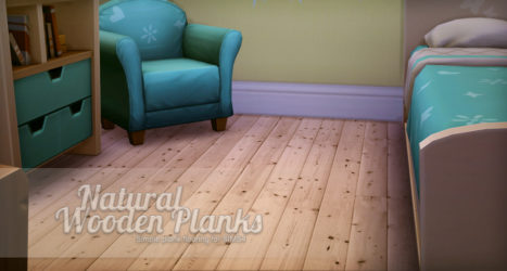 Natural Wooden Planks